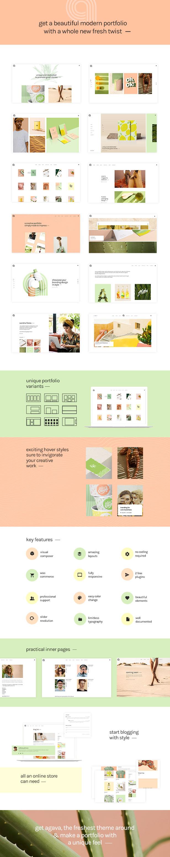 Agava - Design Portfolio Theme - 1